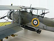 British Fairey Swordfish Mark II Torpedo Bomber