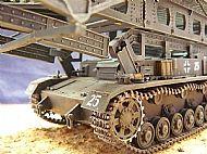 German Bruckenleger Panzer IV Bridge Layer Tank