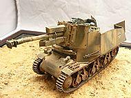 German 39(H) 10.5cm LeFH18(Sf) auf Geschutzwagen