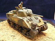 British Sherman III Tank