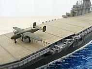 USS Hornet Aircraft Carrier Diorama