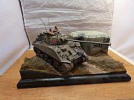British Sherman Firefly Vc Tank Diorama