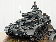 German Panzer IV Ausf D Tank Diorama