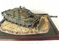 British Challenger II Tank