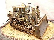 Israeli IDF D9R Armoured Bulldozer