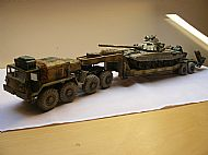 MAZ-537 Tank Transporter