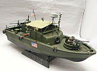 US Vietnam War PBR31 Mark II Pibber (Patrol Boat River)
