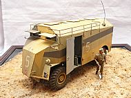 British AEC Dorchester Armoured Command Vehicle