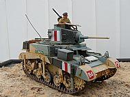 British M3 Stuart Honey Tank