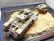 British Churchill Crocodile Flamethrower Tank