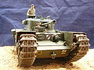 British Churchill Mark VII Tank