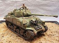 British Sherman Firefly Ic Hybrid Tank
