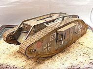 German Mark IV Female Beutepanzer