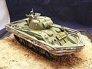 British M4 Sherman Duplex Drive DD Amphibious Tank