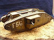 British Mark IV Male Tank