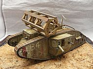 British Mark V Male Tank
