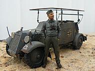 German WW II Adler kfz14 Radio Car