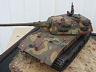 German WW II E-100 Experimental Super Heavy Tank