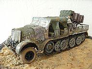 German SdKfz 9 Famo & Nebelwerfer