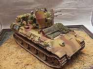 German Flakvierling Flakpanther Ausf G