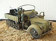 German Ford V3000 Maultier & 2 cm Flak