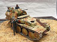 German Flakpanzer (38T) Gepard AA Tank