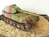 German Hintern Prototype Tank