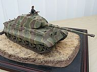 German Tiger Ausf B Kingtiger Tank (Porsche Turret)