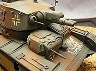 German Neubaufahrzeug Multi-Turret Heavy Tank