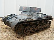German WW II Panzer I Munitionschlepper