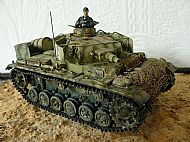 German Panzer III Ausf N