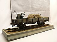 German Flak Railway Wagon