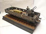 German Anti-Aircraft Railway Gondola