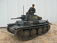 German Skoda 38T Tank