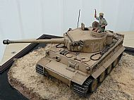 German WW II Tiger Ausf E Tank