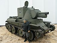 Finnish BT-42 Tank