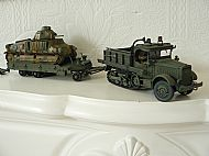 French Somua MCL5 Tractor and Titan Tank Transporter