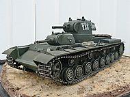 Soviet WW II T-100 Prototype Multi Turret Heavy Tank
