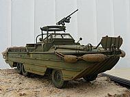 USA WW II DukW Amphibious vehicle