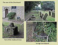 The rear of the Churchyard