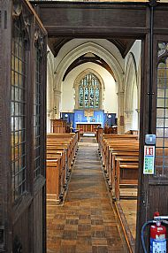 From the Vestry to the Chancel