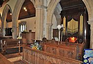 The Organ from the Choir Pews