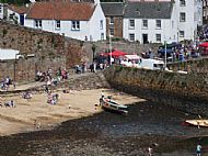 Main Beach At Crail Harbour