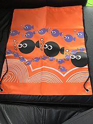 Orange swimming bag