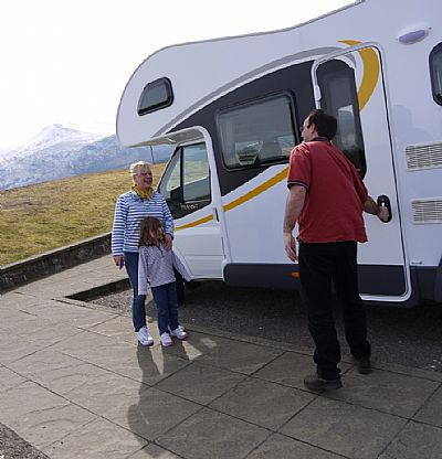 a great family adventure - loch ness motorhomes