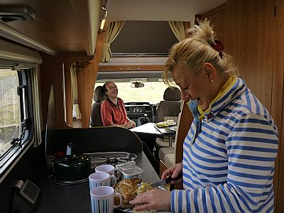 spacious interior-loch ness motorhomes
