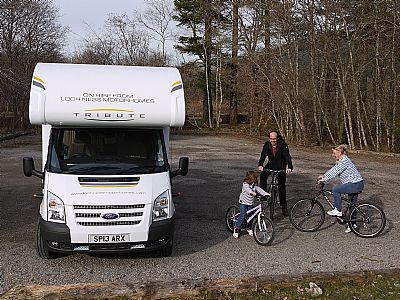 a family adventure - loch ness motorhomes