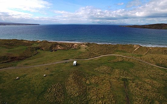 sands caravan and camping gairloch
