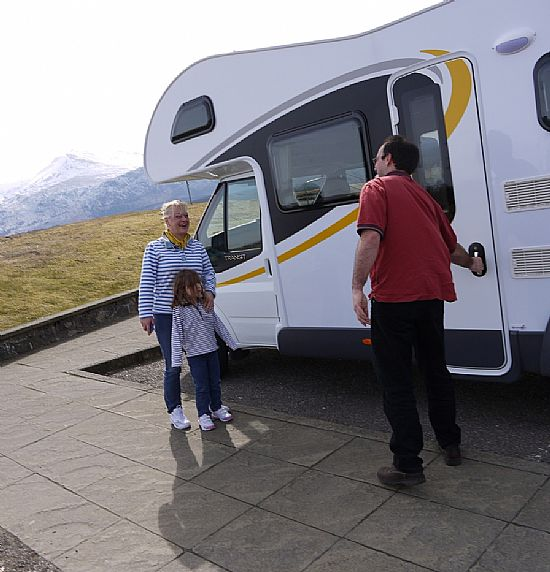 a great family holiday - loch ness motorhomes
