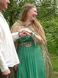 Deposit for handfasting ceremony